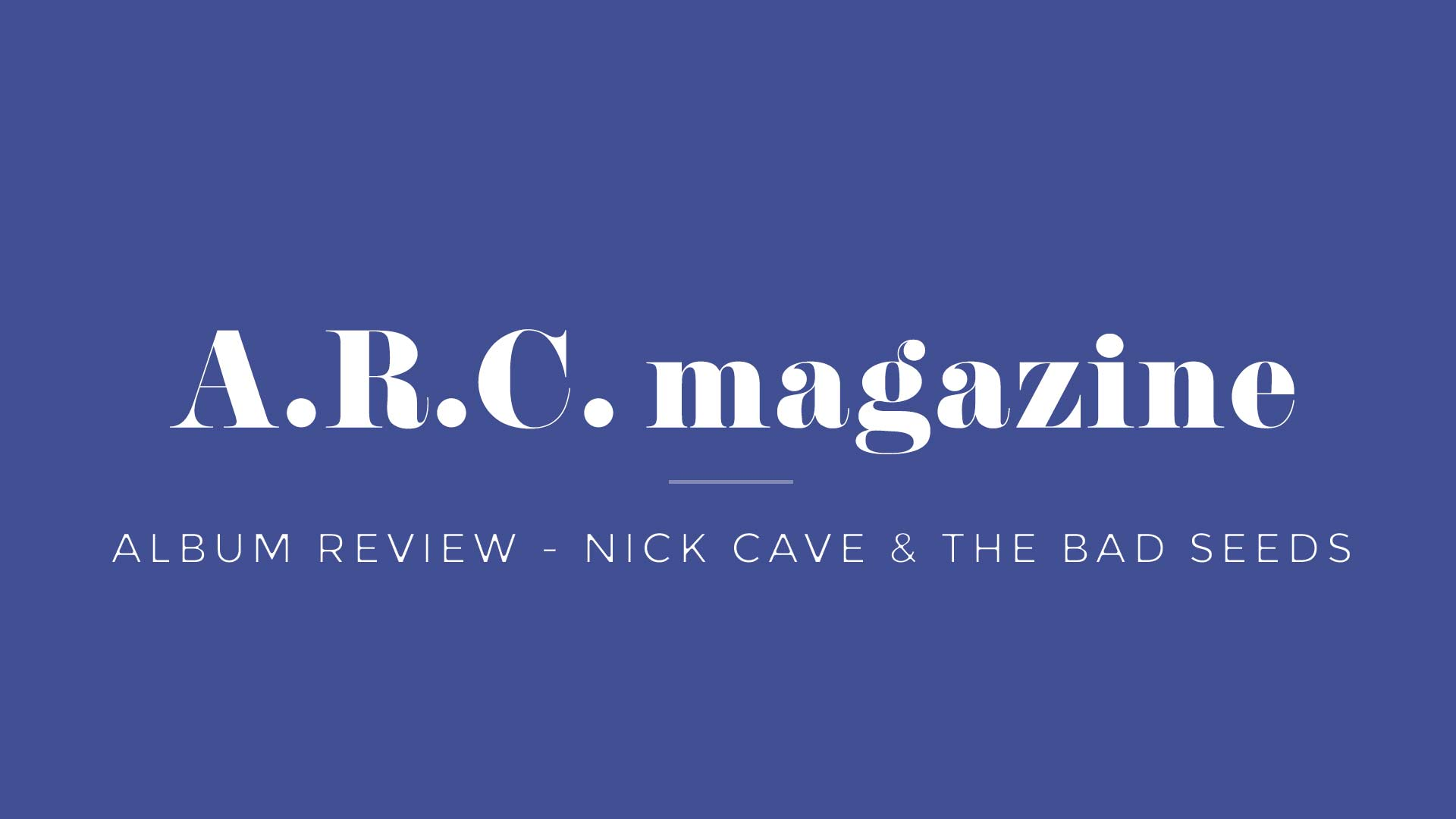 nickcave