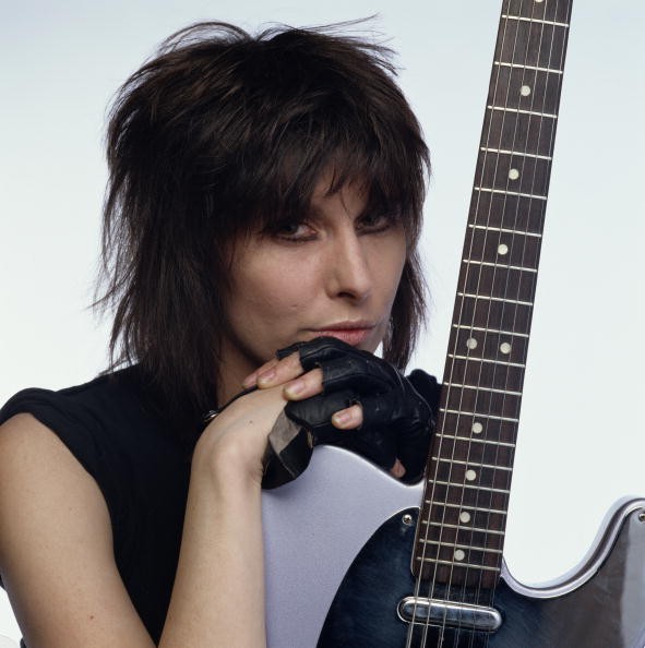 (MANDATORY CREDIT David Montgomery/Getty Images) American singer and musician Chrissie Hynde, circa 1985. (Photo by David Montgomery/Getty Images)